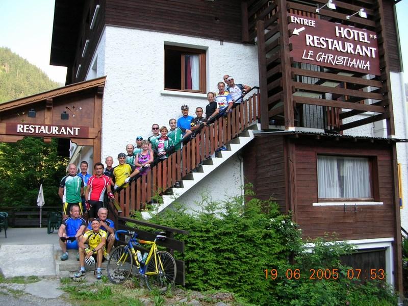 2005 - Traversée des Alpes