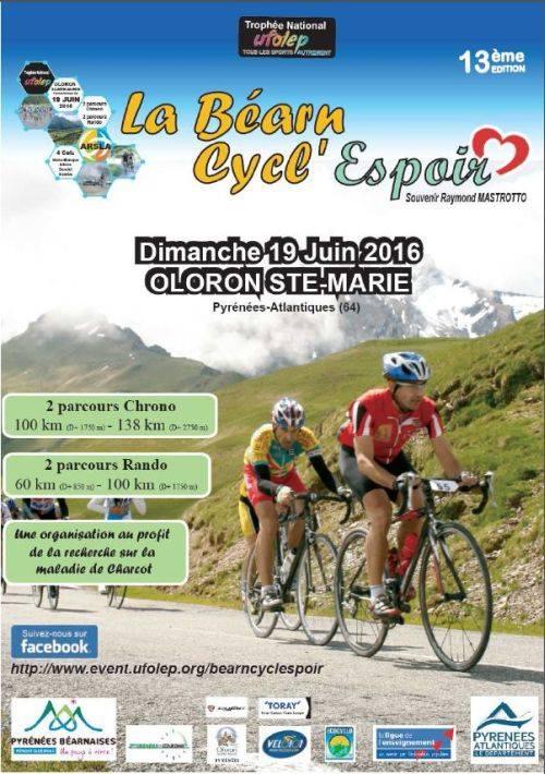 La bearn cycl'Espoir 2016